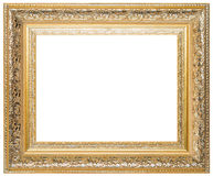 Wood picture frame. Wood frame isolated on a white background Royalty Free Stock Photography