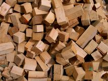 Wood pieces Stock Photography