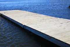 Wood pier. It is wood pier on the river Royalty Free Stock Images