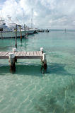 Wood pier - Mexico Royalty Free Stock Photography