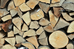 Wood pile. Pile of woods ready for fire Royalty Free Stock Photos