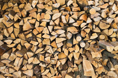 Wood pile Royalty Free Stock Photos
