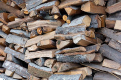 Wood pile Stock Photos