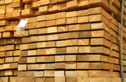 Wood pile bind Stock Photos