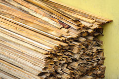 Wood pile for construction Royalty Free Stock Photo