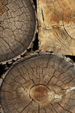 Wood Pile Detail Royalty Free Stock Photography