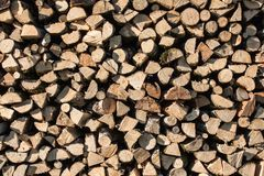 Wood pile. For eater texture Stock Photo