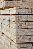 Wood piling up Stock Images
