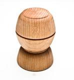 Wood Pinch Bowls Stock Image