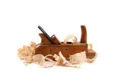 Wood plane Royalty Free Stock Photo