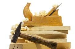 Wood planer Stock Image
