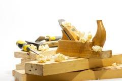 Wood planer Royalty Free Stock Photo