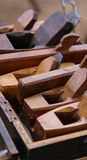 Wood Planes in Box Royalty Free Stock Image