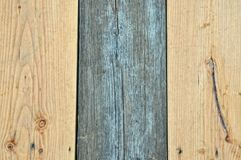 Wood Plank Background. Old Wood New Wood Background Stock Image