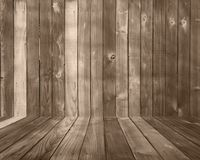 Wood Plank Background Backdrop With Floor. Brown Wood Plank Background Backdrop With Floor stock image