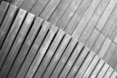 Wood Plank Background Black And White Royalty Free Stock Images