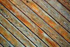Wood plank background board, brown, pattern. Dark stock photography