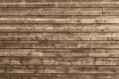 Wood plank background. Brown texture royalty free stock image