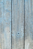 Wood plank background old painted at pale blue, strong shabby, out of color Royalty Free Stock Photos