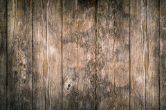Wood plank background texture. Brown wood plank background texture with aged and distress showing stock image