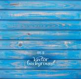 Wood plank blue background Stock Photos