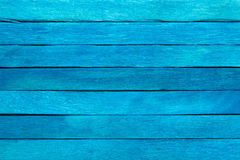 Wood plank blue background. Wall stock image