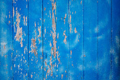 Wood plank blue texture background Stock Image