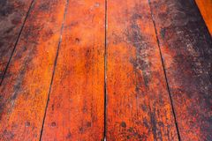 Wood plank brown texture background. wood all antique cracking f Stock Photography
