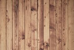 Wood plank brown texture background. With vertical planks stock photo