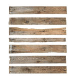 Wood plank. (with clipping path) isolated on white background Royalty Free Stock Image