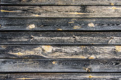 Texture of the dark wood Royalty Free Stock Photography