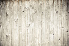 Wood Plank Fence Stock Image