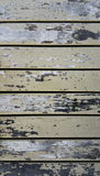 Wood plank fence with an old color Royalty Free Stock Images