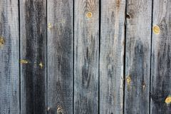 Wood plank fence. The old wood plank fence in the village Stock Photos