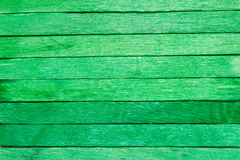 Wood plank green background Stock Images