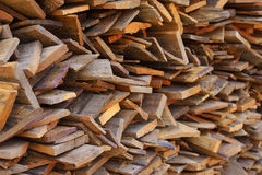 Wood plank of industries Royalty Free Stock Images