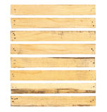 Wood plank with nail head Royalty Free Stock Photo
