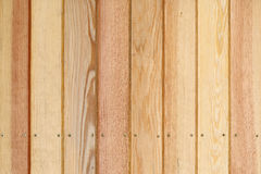 Wood plank panel background decorated wall Royalty Free Stock Images