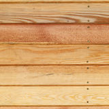 Wood plank panel background decorated wall Royalty Free Stock Image