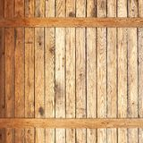 Wood plank panel background. Rough wood textured plank panel wall with natural wood grain background Stock Photos