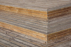 Wood Plank Stair Steps . Close up. Photo royalty free stock images