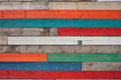 Wood Plank Texture in Different Colors Stock Photo