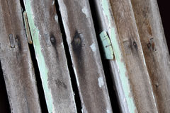 Wood plank texture with nails Stock Photos