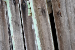 Wood plank texture with nails. Abstract background.  Stock Photo