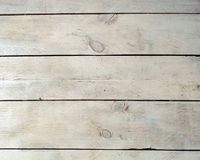 Vintage White Timber Wood Plank Texture Background Stock Images
