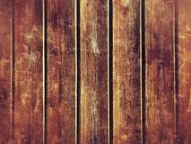 Wood plank wall background. Wall of building built with wood planks stock photos
