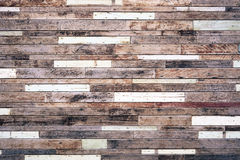 Wood plank wall. Old hard wood plank wall background for design and decoration Royalty Free Stock Photos