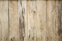 Wood plank wall. Old hard wood plank wall background for design and decoration stock images