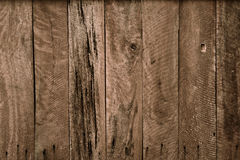 Wood plank wall. Old hard wood plank wall background for design and decoration royalty free stock photography