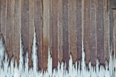 Wood plank wall texture. Teak wood plank wall texture stock images